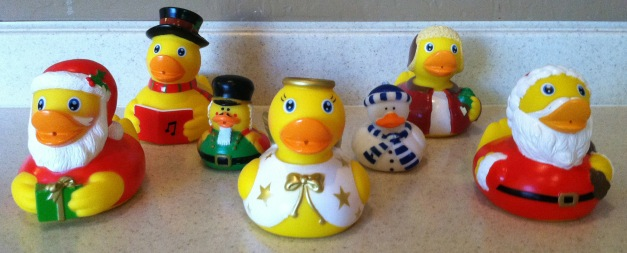 The Arrival of the Holiday Ducks