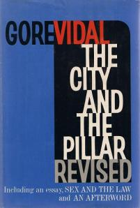 First Edition cover of The City and the Pillar Revised