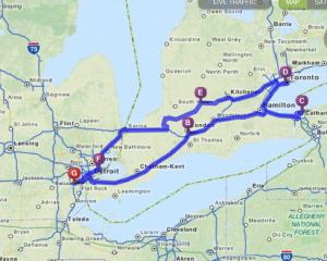 Ontario Route