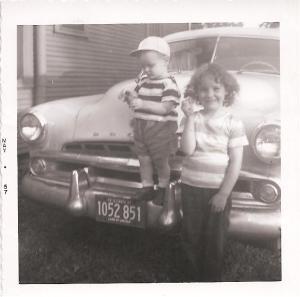 Judi and Dave May 1957.jpeg