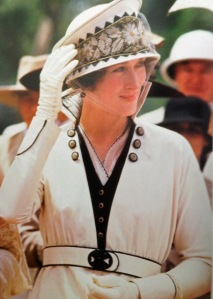 Out of Africa. This suit khaki suit appears white in the film