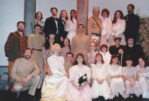 The Secret Garden - 1996 It was a milestone to walk out on stage in a theater that seats 650 and sing.